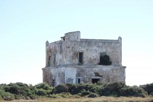 Edificio salinas en ruinas