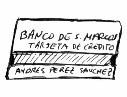 Las aventuras de Andresín: La tarjeta